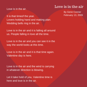 Love is in the air. (4)