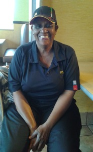 Ruth at McDonalds