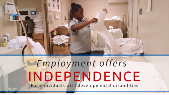 Employment offers independence