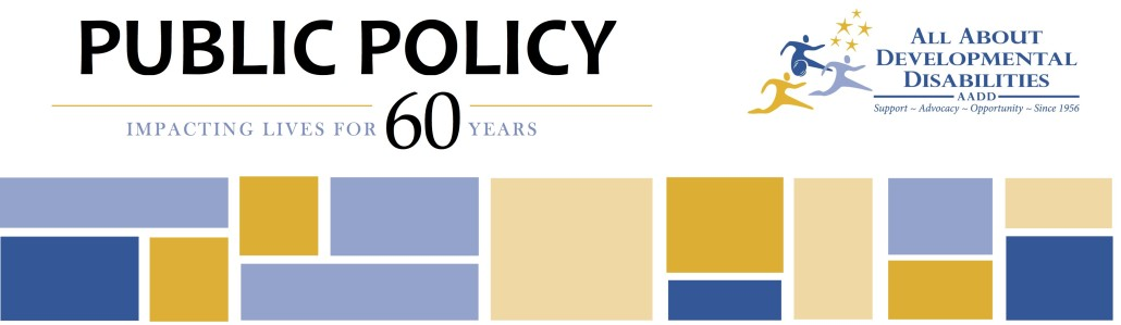 AADD 60 years Public Policy banner 2
